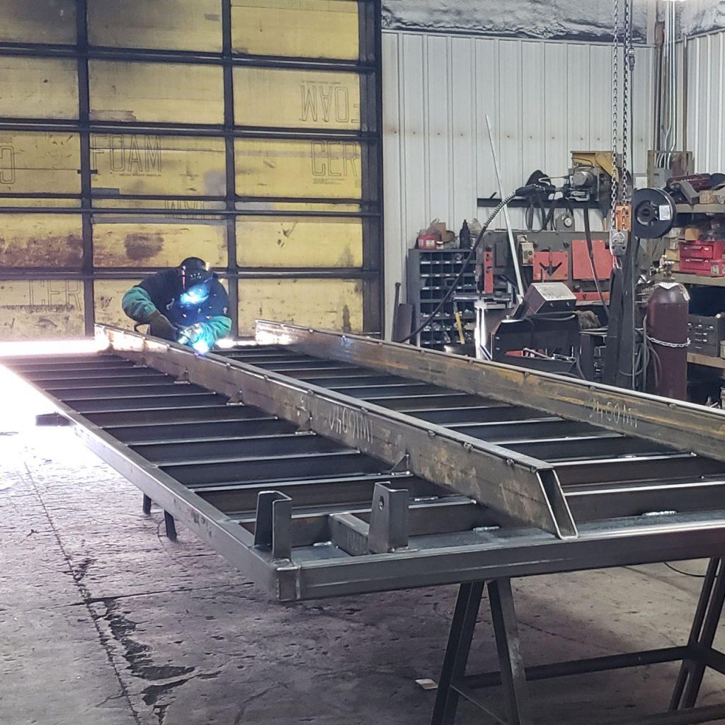 Ironwood 53 | Custom Work | Sectional Flighting