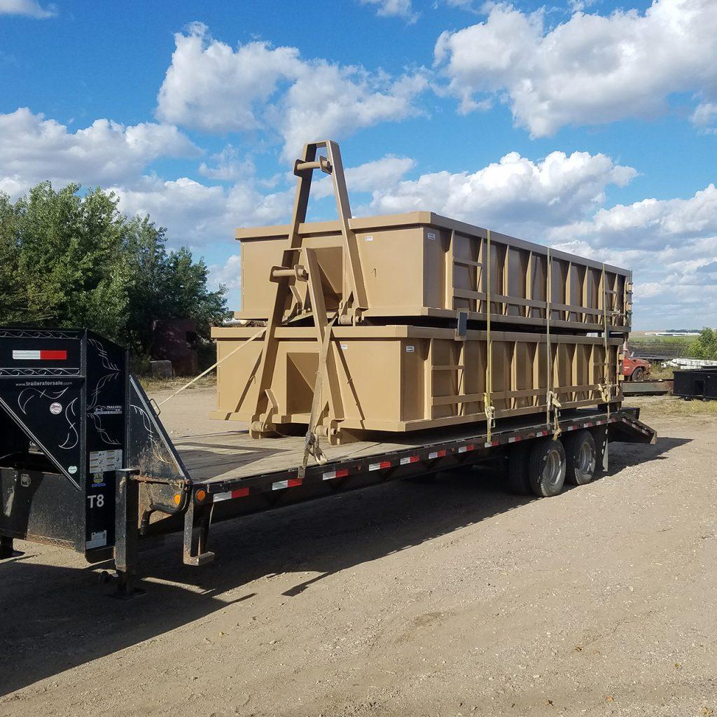 Ironwood 53 | Custom Roll Off Boxes | Custom designed in Rock Valley Iowa